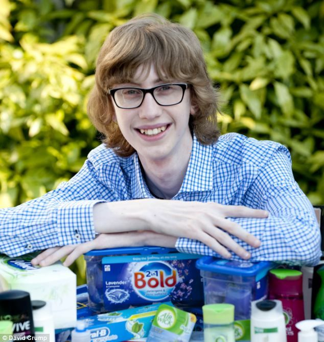 Teenage voucher vulture reveals how he saved £1 off shopping for every 80p sachet bought | Mail Online