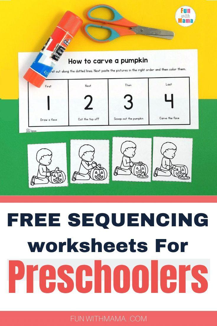 Free Sequencing Worksheets For Preschoolers Sequencing Worksheets Preschool Worksheets Preschool Learning Activities [ 1102 x 735 Pixel ]