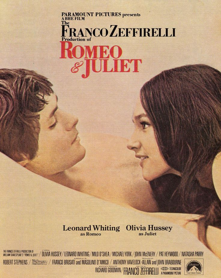 Romeo y Julieta (Romeo and Juliet), de Franco Zeffirelli, 1968