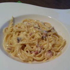 Rezept Spaghetti alla Carbonara wie beim Italiener von Lunalea - Rezept der Kategorie sonstige Hauptgerichte