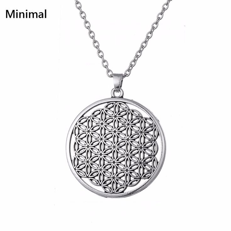 Flower of Life Pagan Talisman Amulet  Knot Kolovrat Pendant Necklace for Woman/Man Wicca necklace //Price: $2.97 & FREE Shipping //     #hashtag1