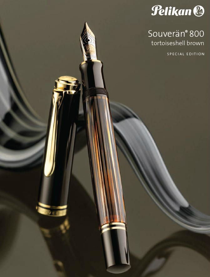 Pelikan Souverän M800 in Tortoiseshell Brown | Drooling...one of the rarest of the M800 line
