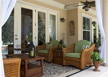 decorating a lanai in florida | Lanai - eclectic - patio - other metro - by Decorating Den Interiors