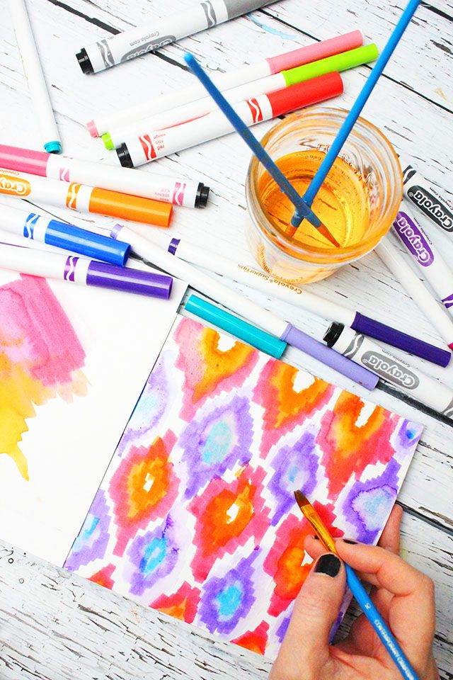 Coloring Book Using Water : Best 20 colour drawing ideas on pinterest choses faciles à