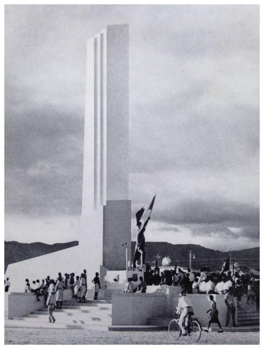 Gonaives, Haiti c.1954