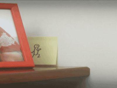 """El desván del Freak: Animación con """"Post-it"""""""