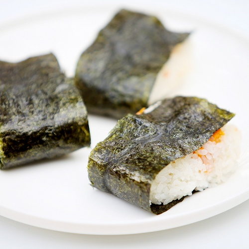 yam & salmon onigiri courtesy of @Lori Bearden Andrews