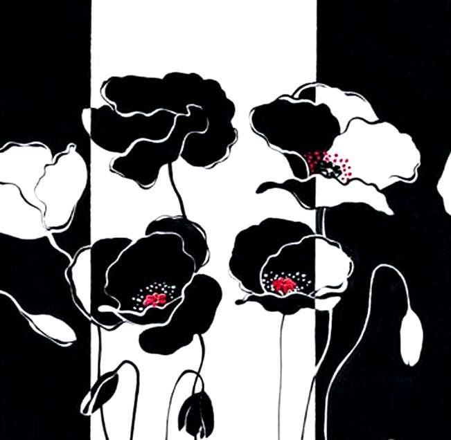 """Схема вышивки «Триптих """"Маки""""» - Схемы вышивки - 2Gelya2009 - Авторы - Портал «Вышивка крестом»"""