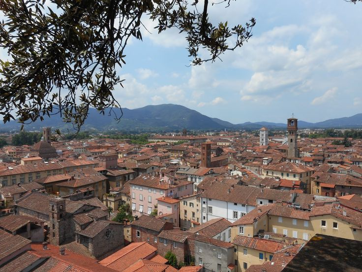 Lucca, Italy:  Blog Post: Louise Marley: A Writer's Holiday?  #travel #Italy #Tuscany #Lucca #writing