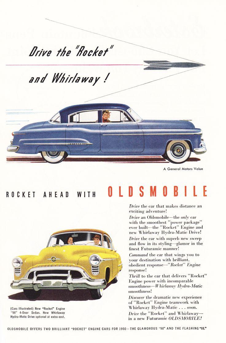 288 best Oldsmobile images on Pinterest | Vintage cars, Classic ...