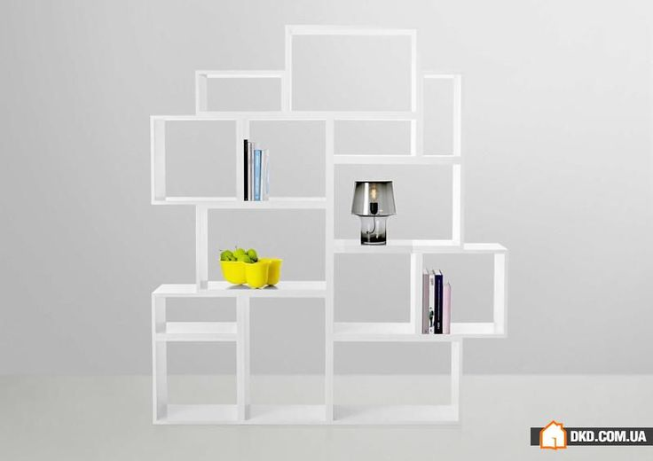 Новинки мебельного дизайна: модульные полки для гостиной