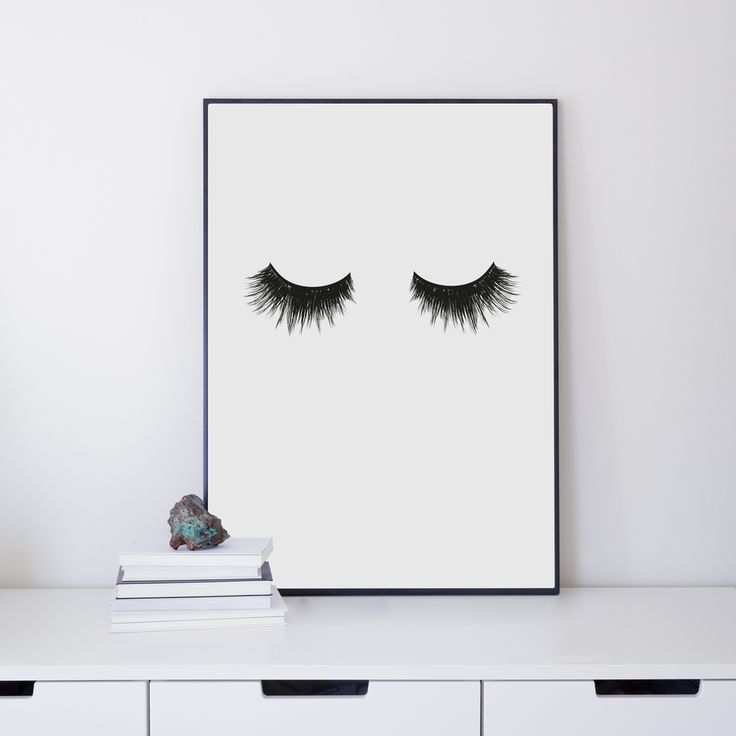 30€ EYELASHES 30x40 via Ateljé Epifor. Click on the image to see more!