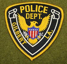Patch Gilbert Louisiana Police Department