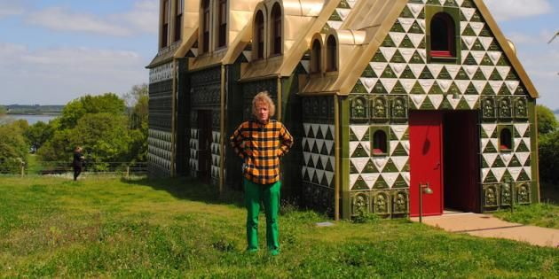 Grayson Perry Launches His New Landmark House for Essex
