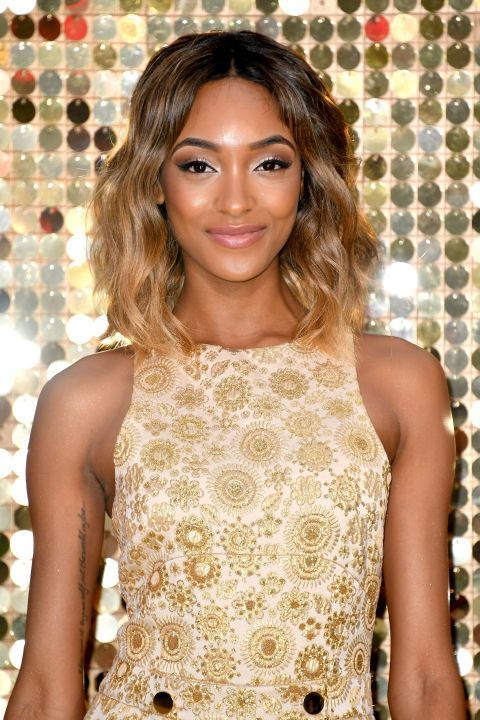 Jourdan Dunn's style is the sun-kissed-ombrecool-girl hair we all dream of.