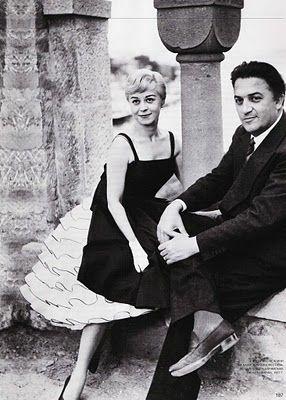 Giulietta Masina and Frederico Fellini
