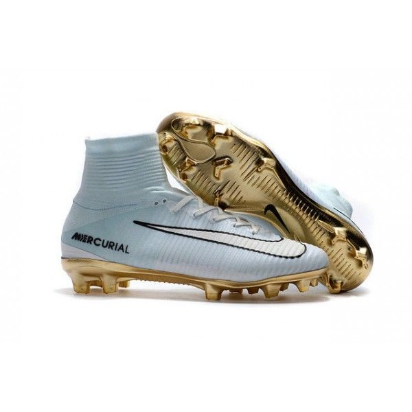 8e3afbc783e3 Discover ideas about White Football Boots. Chaussure Nike Mercurial  Superfly 5 FG ...
