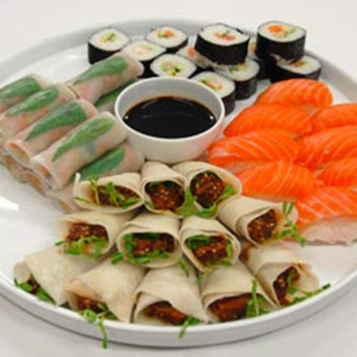 Chilled Asian Platter by Devour It Catering Melbourne