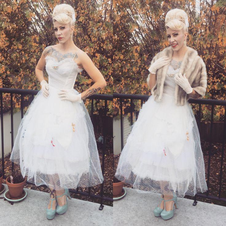 retro style prom dress