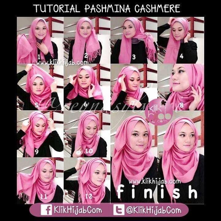 Pashmina tutorial