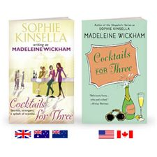 sophie Kinsella was also writing as Madeline Wickham, since the film all of these books have been rebranded.