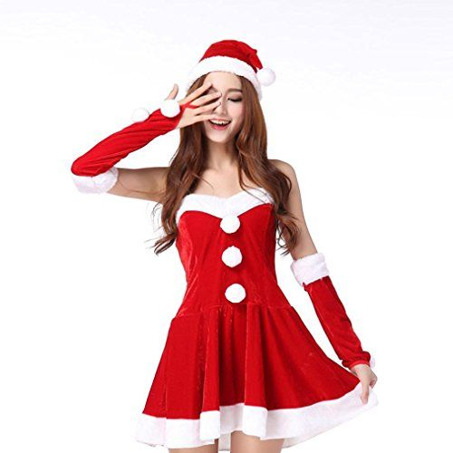 #Red #Christmas #Dress,Han #Shi #Women #Santa #Costume #Mini #Skirt #Fancy Two #Parts #Cosplay #Suit ❀Material:High Quality Polyester,Very Soft and Comfortable, Perfect for Autumn&Spring ❀Bandeau Neck & Sleeveless & Above Knee Length & Charming ❀Charming & Novelty & Vogue Design & Modern Fit https://boutiquecloset.com/product/red-christmas-dresshan-shi-women-santa-costume-mini-skirt-fancy-two-parts-cosplay-suit/