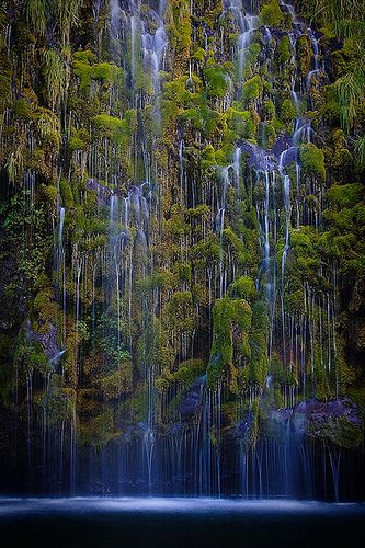 Mossbrae Falls, Dunsmuir - California