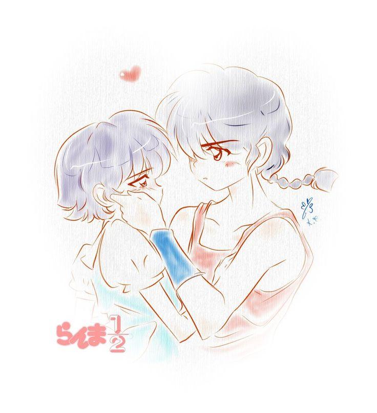 Ranma y Akane by KaoiChan.deviantart.com on @DeviantArt