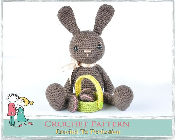Amigurumi Pattern Amigurumi Crochet Pattern Bunny Rabbit