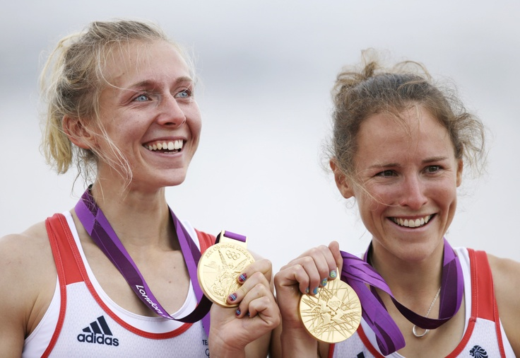 Katherine Copeland and Sophie Hosking : GOLD - Lightweight Women's Rowing Double Sculls