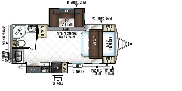 Rockwood Ultra Lite Travel Trailers / Fifth Wheels by Forest River RV