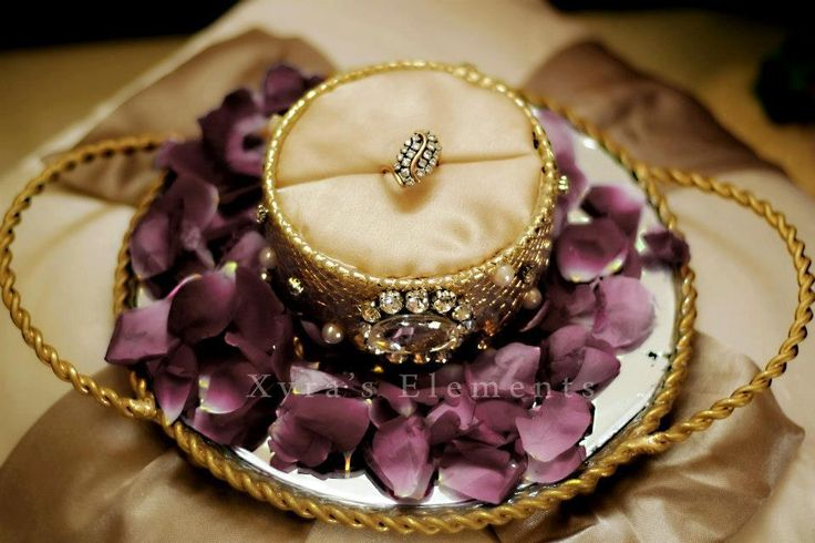 beautiful ring tray