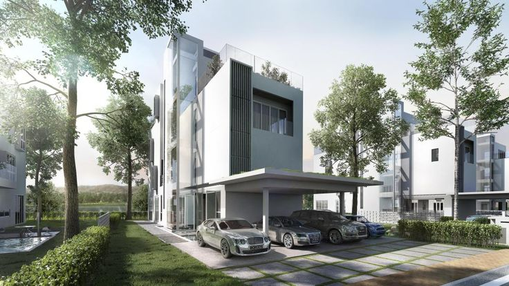 New Zero-Lot Bungalow for Sale at Lakefront Villa, Cyberjaya from RM 2,168,920