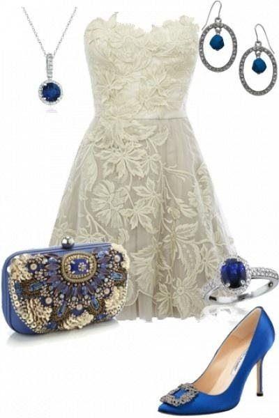 Eight jewelery trends - 8 biżuteryjnych trendów 2014 - Ślubowisko #wesele #biżuteria #sukienka #naszyjnik #kolczyki #torebka #pierścionek #obcasy #niebieski #dodatki