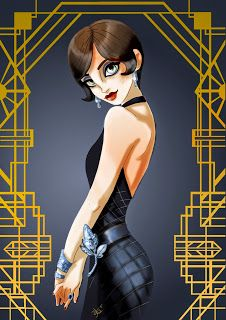 Jordan Baker, Great Gatsby Dee Dee Comics