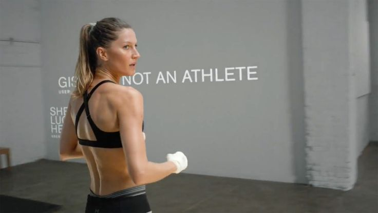 Gisele Bunchden punches back at critics in new Under Armour ad