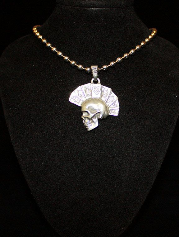 DEAD MAN'S HAND NECKLACE