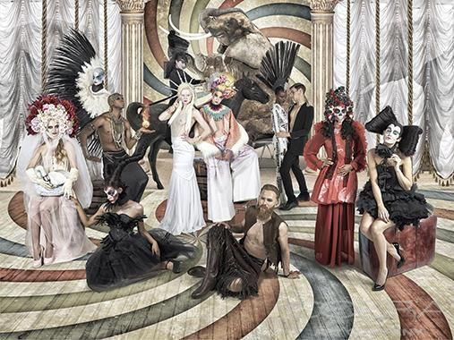 INTIMACY Fashion & Faces Photography Surrealistic Photography Photographic art on plexiglass Cobra Art Company