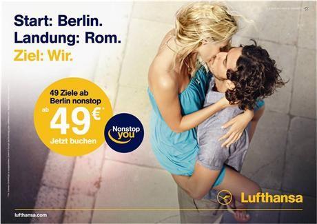 Lufthansa German Airlines ad