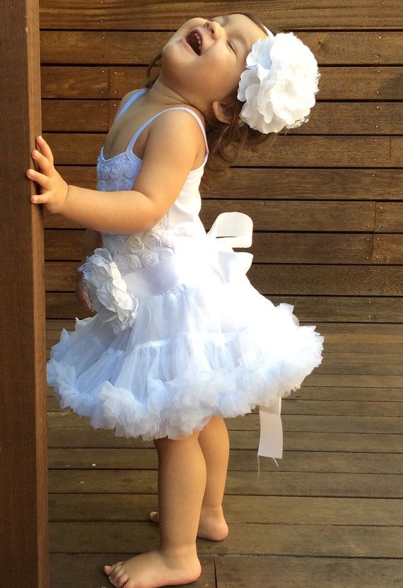 Baby Girls TuTu Dress. Christening Dress. 1st by LilTreasuresAust