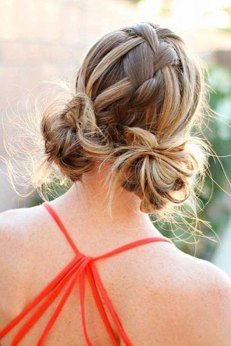Quick Holiday Updo Picture1 Sporty Hairstyles Long Thin Hair Easy Hairstyles