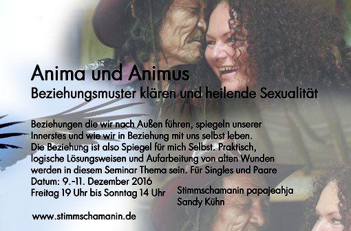 Seminar, Beziehungsmuster, heilende Sexualität