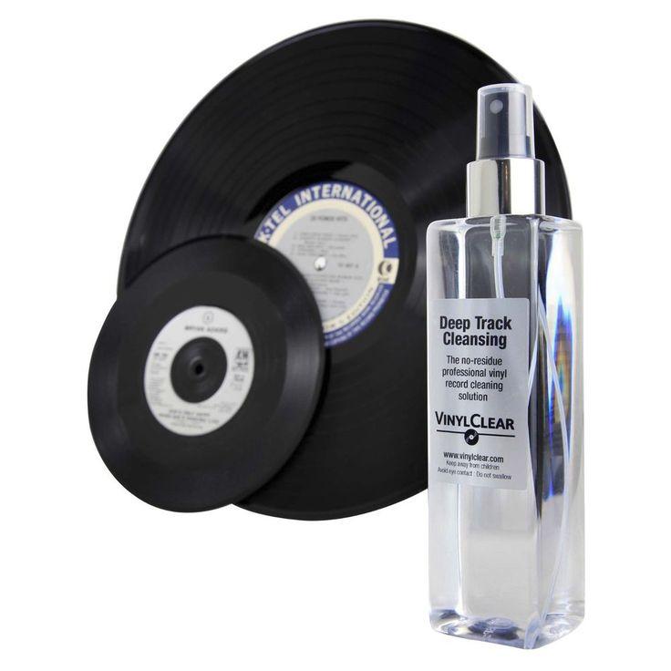 VinylClear Vinyl Record Cleaner LP Antistatic Spray Solution 250ml #VinylClear