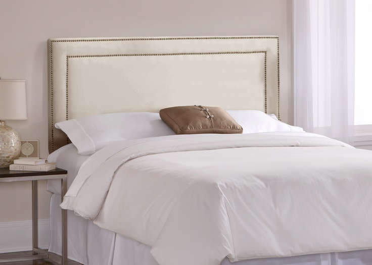 Shop Skyline Furniture Wellington Collection Oatmeal Queen Microsuede Headboard at Lowes.com