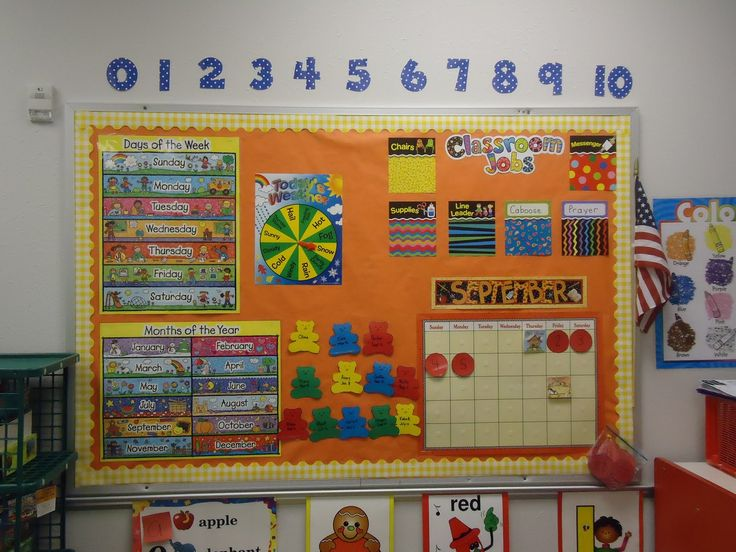 Calendar Time Kindergarten Ideas : Images about circle time bulletin board ideas on
