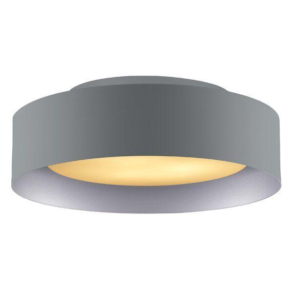 Ellar 3 Light 15 75 Simple Drum Flush Mount In 2020 Glass Diffuser Light Cleaning Glass