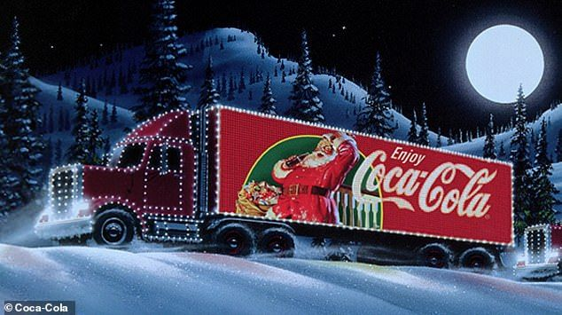 Coke Trucks Hand Out Cans In An Obesity Crisis Writes Robert Hardman Crăciun