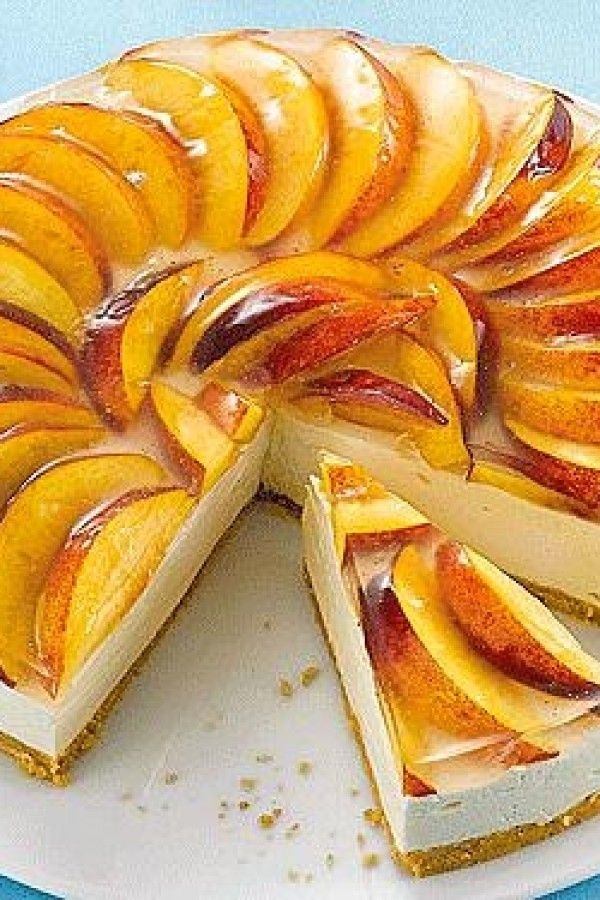 Frischkäse Nektarinen Torte Rezepte Bildderfrau De Lebensmittel Essen Nektarine Torten