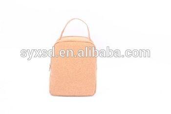 North America China supplier free sample custom cork paper bags handbag