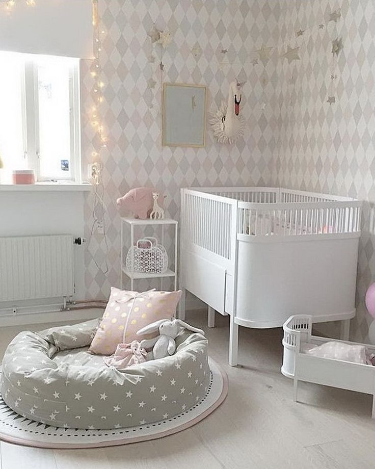 488 best the nursery images on pinterest baby room for Bedroom ideas for babies